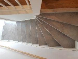 beton trap look - renovatie trap in venlo